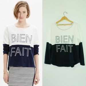 Madewell Pullover   Madewell Colorblock Bien Fait